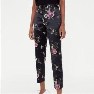 Zara Jacquard pants